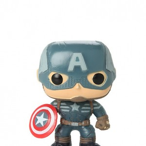 Captain America - Winter Soldier - Hot Topic - GITD - Front