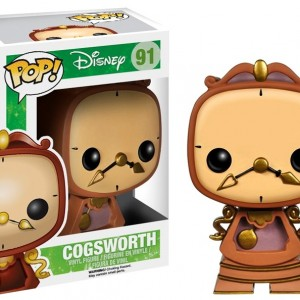 Cogsworth - Beauty And The Beast - Funko - Pop