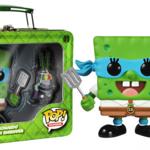 Spongebob - TMNT - SDCC 2014 - exclusive Funko Pop