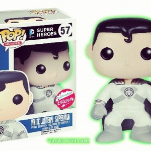 White Lantern Superman - Fugitive Toys - SDCC Exclusive