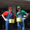 SDCC - Wednesday - 01 - cosplay - MarioBros