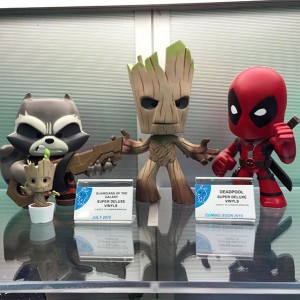 Super Deluxe Vinyl - GOTG and Deadpool