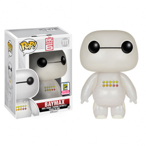 Baymax - Glitter Emoticon - Big Hero 6 - Funko Pop - SDCC - 2015