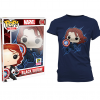 Pop Tees - Black Widow - SDCC Exclusive - 2015