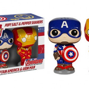 Captain America - Iron Man - Funko - Salt Pepper Shakers