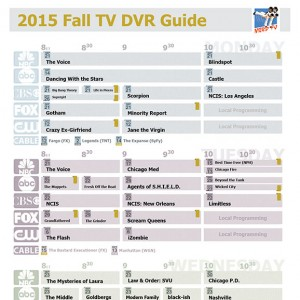 DVR Guide - Mon-Wed