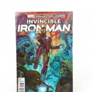 MCC - Villains - Comic Book - Invincible Iron Man #1 Variant Cover