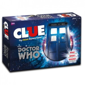 BOARD GAMES - CLUE - DOCTOR WHO