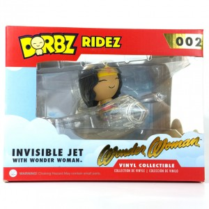 Derby - Wonder Woman - Invisible Jet - In Box - Front