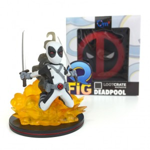 Loot Crate - FEB 2016 - Dead - Deadpool - Q-Fig - Quantum Mechanix