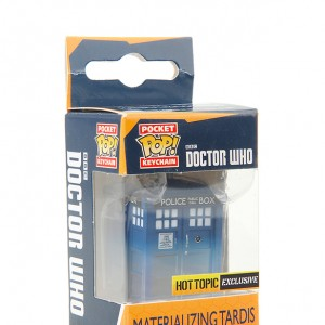 Materializing Tardis - Funko - Pocket Pop - Keychain - Exclusive