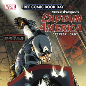 Captain America - Steve Rogers - Free Comic Book Day - 2016