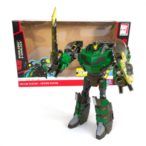 Transformers - Gridlock Exclusives - In Front of Package