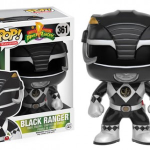 Power Rangers - Funko Pop! - Black Ranger