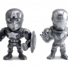 Jada Toys - Metals - Captain America Civil War - Captain America - Iron Man - SDCC Exclusive - Figures