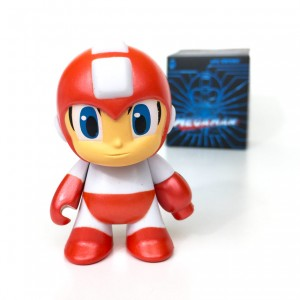 Loot Crate - July - Futuristic - MegaMan - Red Variant Figure