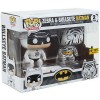 Batman - Two Pack - Bullseye - Zebra - Funko Pop - Hot Topic - Exclusive
