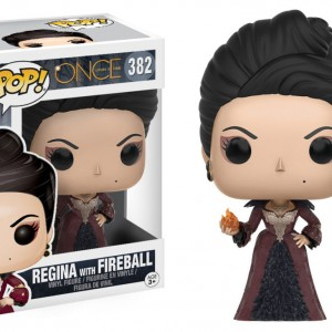 Once Upon a Time - 382 - Regina [With Fireball] - Funko Pop!
