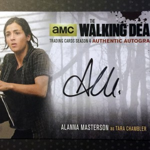Cryptozoic - The Walking Dead - Trading Card - Alanna Masterson - Autograph Card