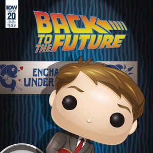 Back To The Future - Funko - Comic Book - Variant