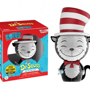 Cat in the Hat - flocked - Dorbz - Hot Topic - exclusive