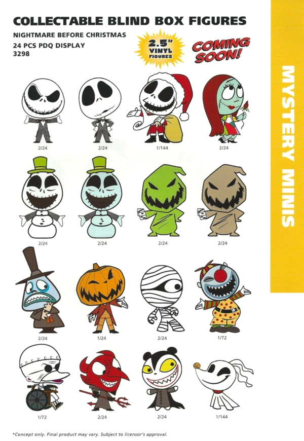 Nightmare Before Christmas Funko Mystery Minis