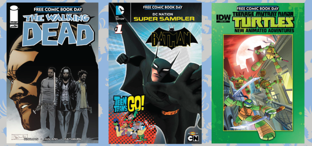 FCBD - Walking Dead, Batman, TMNT