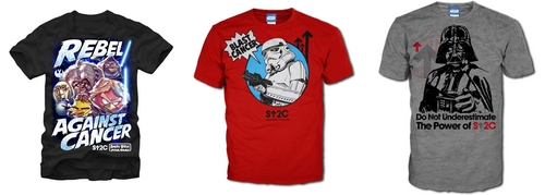 StarWars gear from StandUp2Cancer