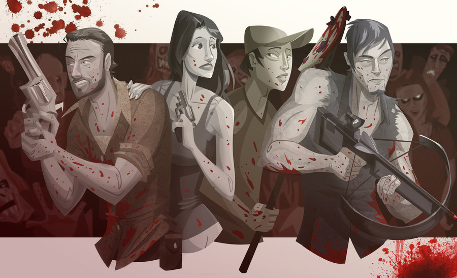 drawing_out_the__walking__dead_by_pushfighter-d5fhn2m
