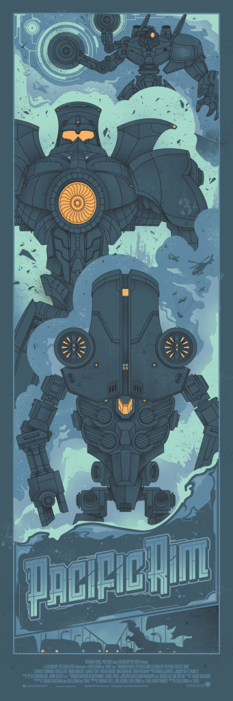 Pacific Rim Print Series - Graham Erwin