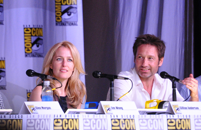 SDCC 2013 - X-Files 20th Panel - Photo 08