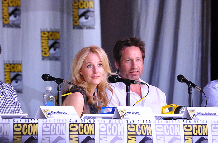 SDCC 2013 - X-Files 20th Panel - Photo 10