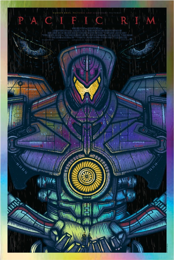 Pacific Rim Printe Series - Todd Slater - Foil Variant