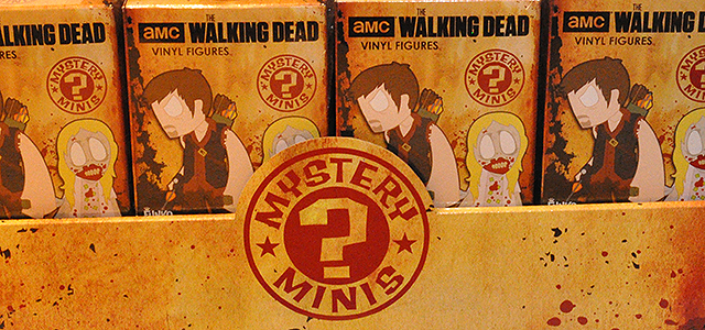 Walking Dead Mystery Minis - Unboxing