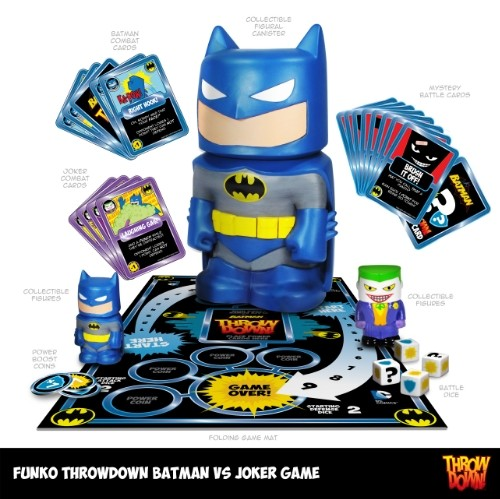 Funko Throwdown - Batman vs Joker Game