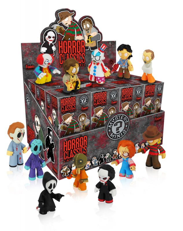 Horror Movie Mystery Minis - Box