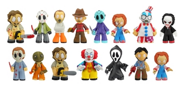 Horror Movie Mystery Minis - Cover