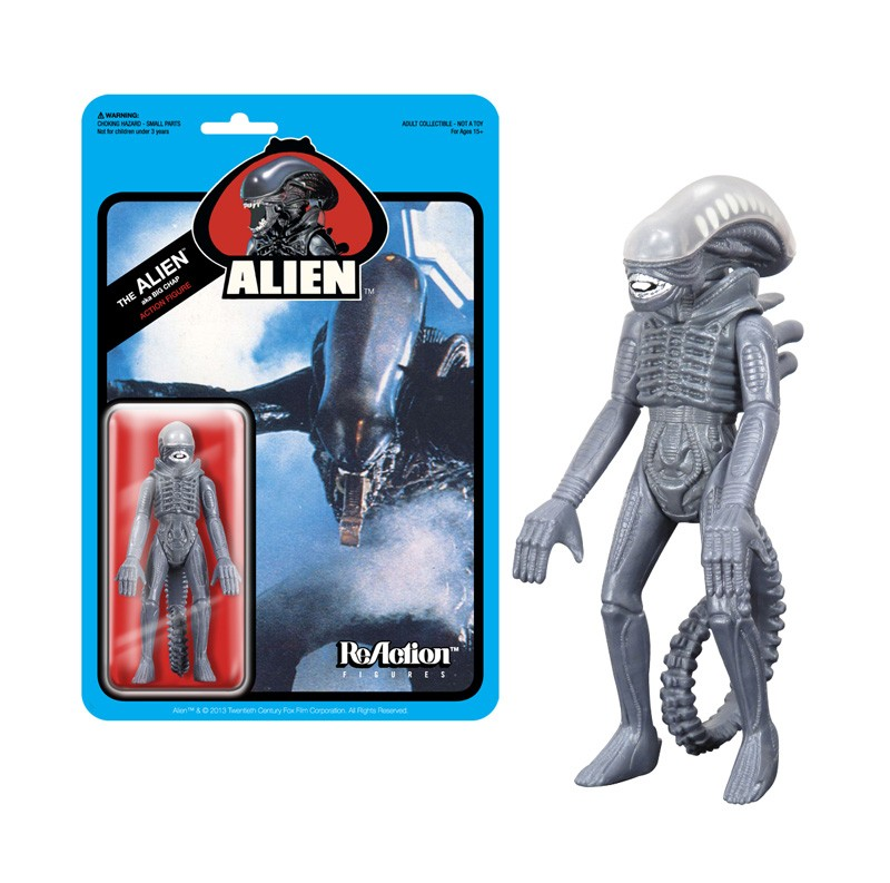 ReAction Alien Figure close up