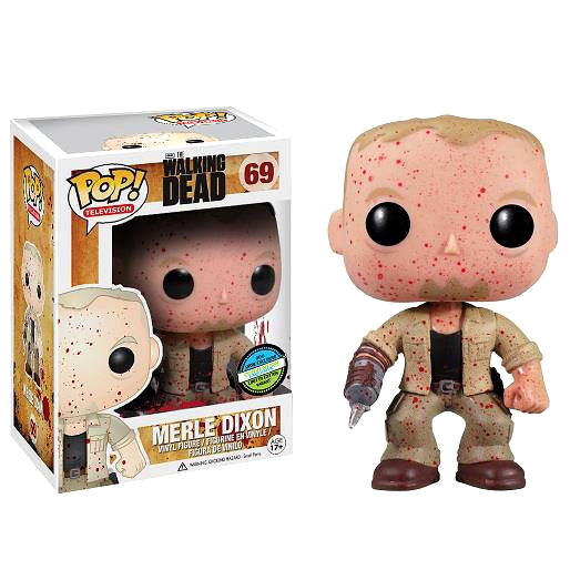 Blood Splattered Merle Dixon - The Walking Dead - Convention Exclusive Pop