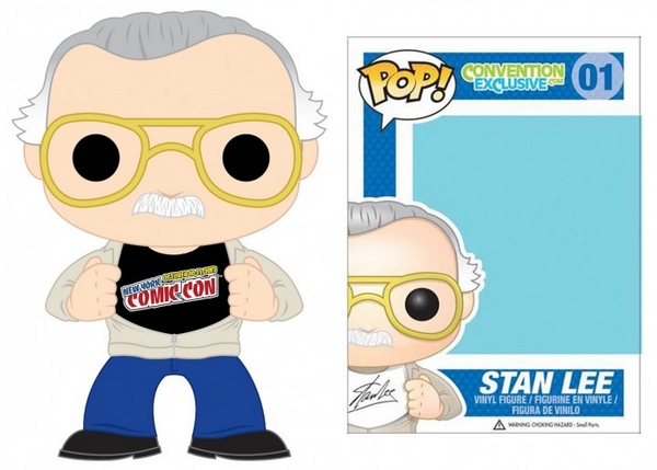 Stan Lee Funko Pop New York Comic Con Exclusive