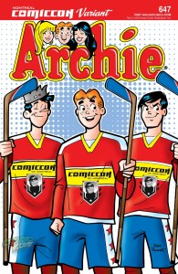 Archie #647 Montreal Comiccon Exclusive Variant