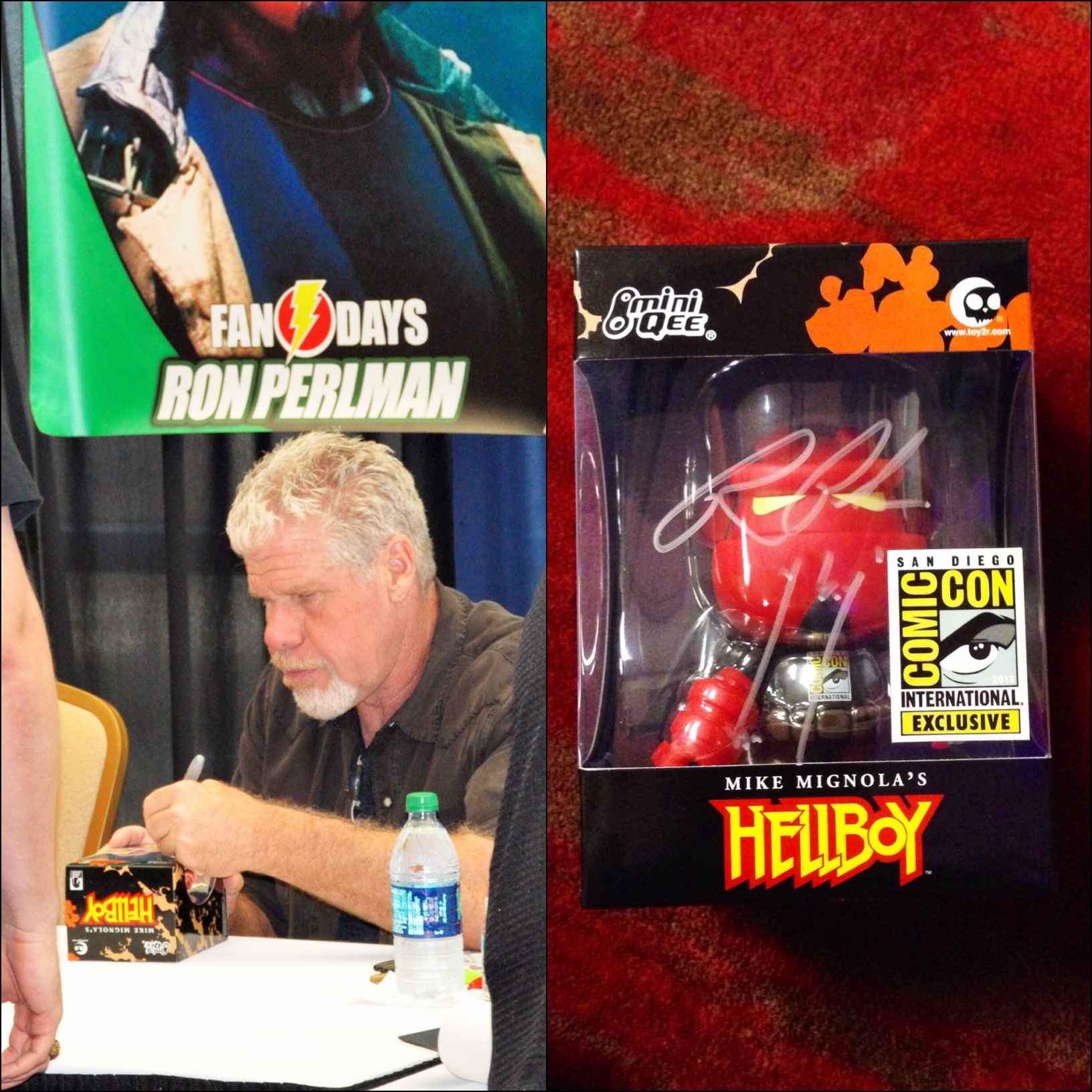 DallasFanDays - Ron Perlman Hellboy