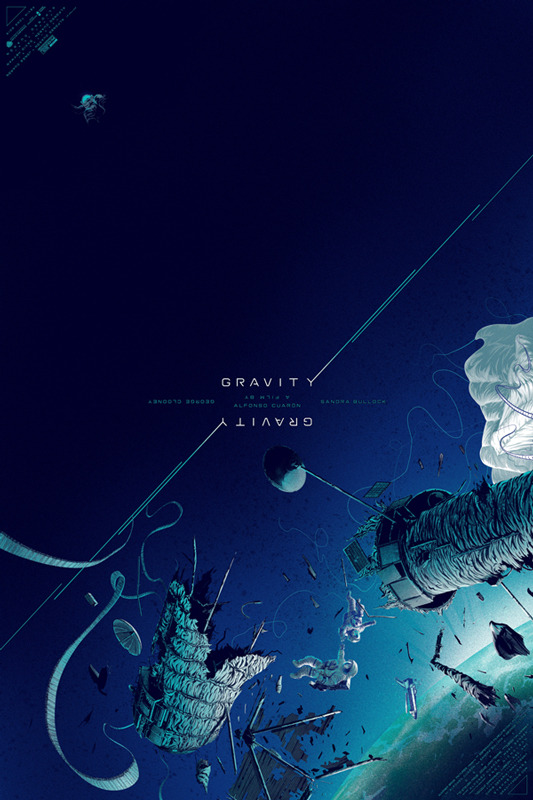 Gravity Poster from Mondo