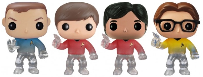 SDCC Exclusive BBT Star Trek Pops