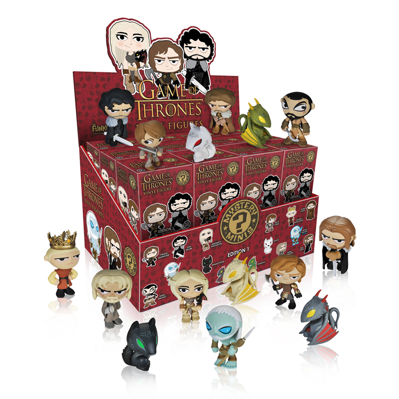 Toy Mystery Box : Game of thrones mystery minis winter is almost here nerdfu