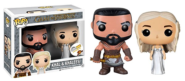 Khal - Khaleesi - Wedding Set - ThinkGeek - inbox