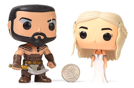 Khal - Khaleesi - Wedding Set - ThinkGeek - out of box