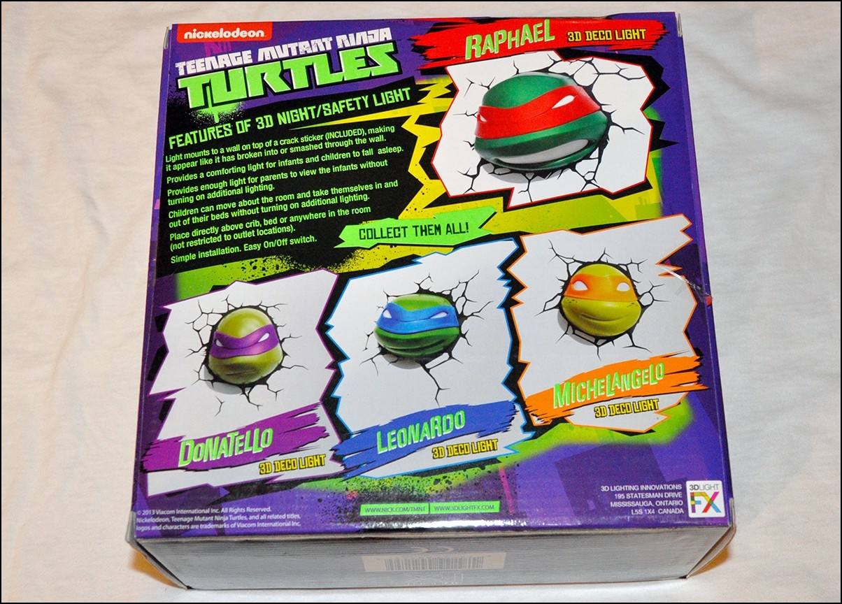 Fight the darkness with 3dlightfxs line of teenage mutant ninja back box 2 amipublicfo Image collections