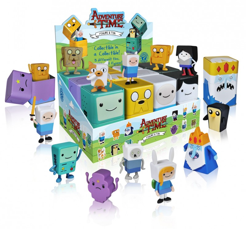 Adventure Time Mystery Minis - box