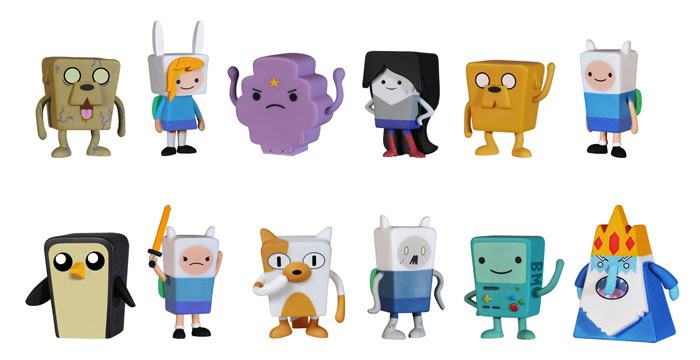Adventure Time Mystery Minis - figures